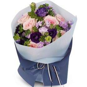 파스톤칼라 꽃다발